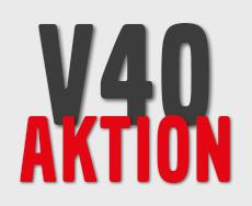 Volvo V40 Aktion
